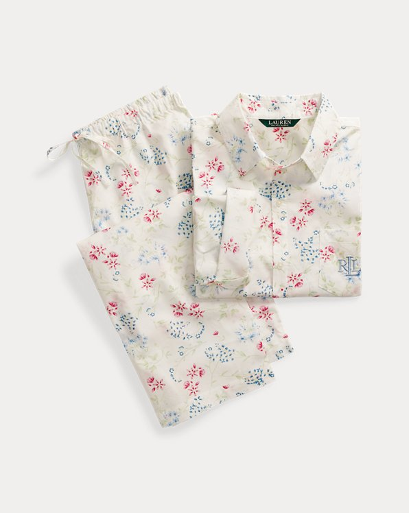 Cotton Capri Sleep Set
