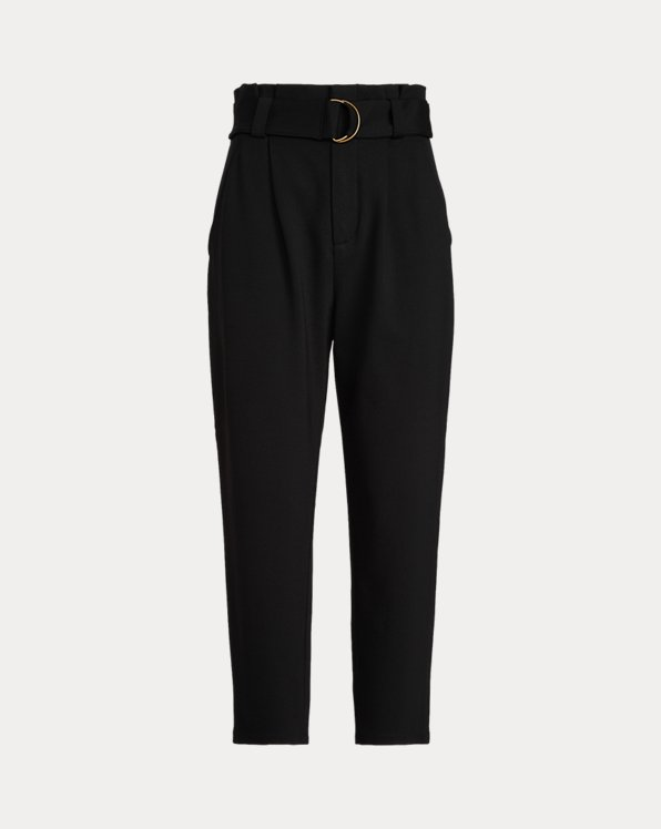 Belted Ponte Trousers