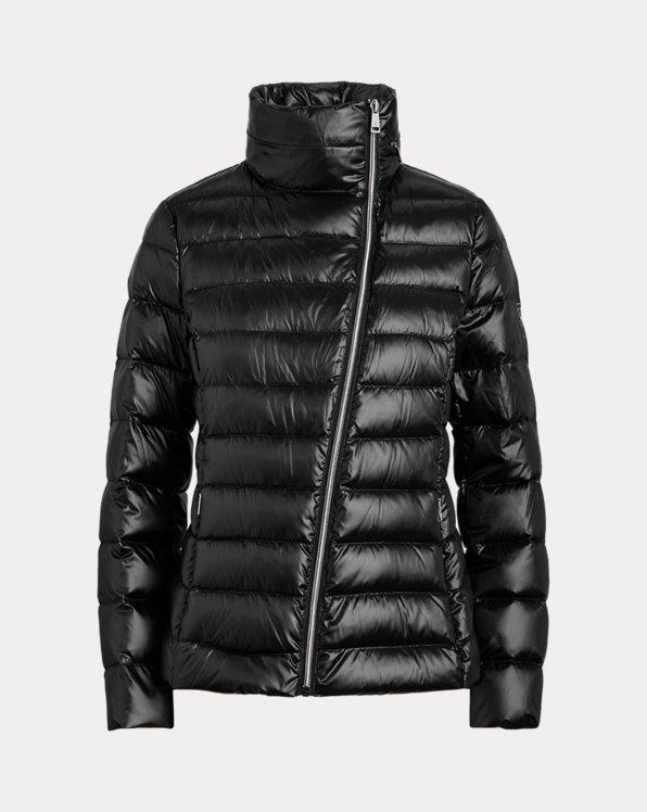 Asymmetrical Down Jacket