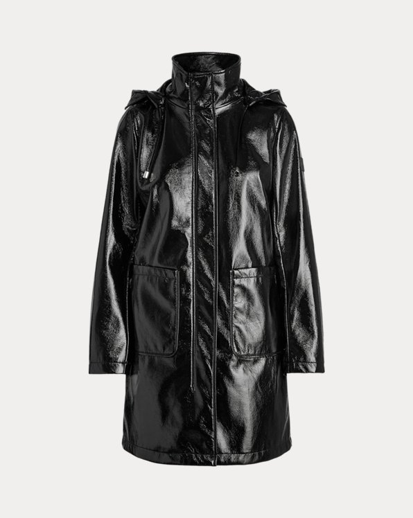 Hooded Slicker Coat