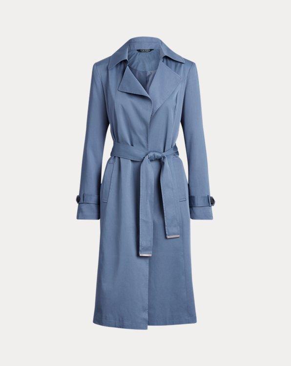 Wrap-Style Duster Coat