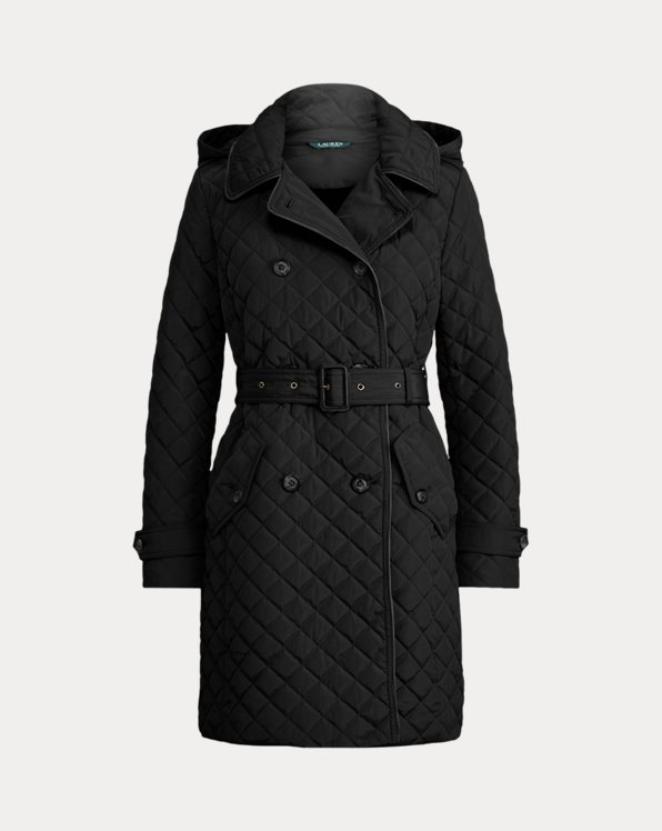 Quilted Trench Coat