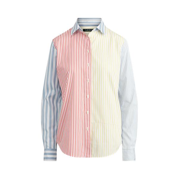 폴로 랄프로렌 Polo Ralph Lauren Multi-Stripe Cotton Shirt,Multi Stripe