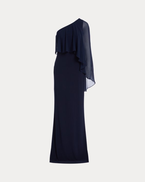 Jersey Cape Gown