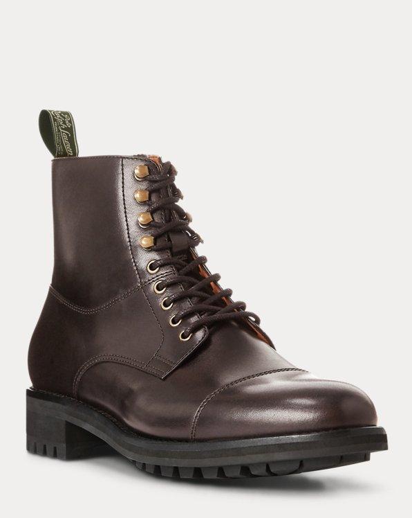 Bryson Cap-Toe Leather Boot