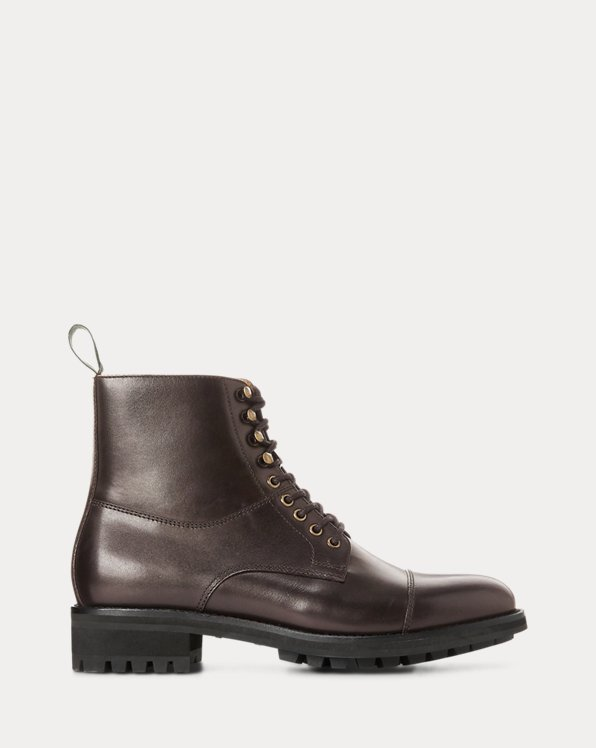 Bryson Cap-Toe Leather Boot