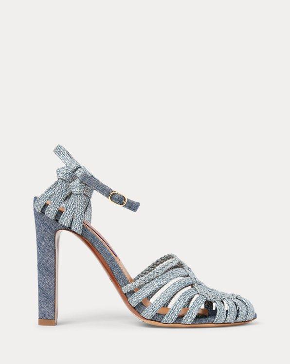 Telma Woven Cotton Sandal