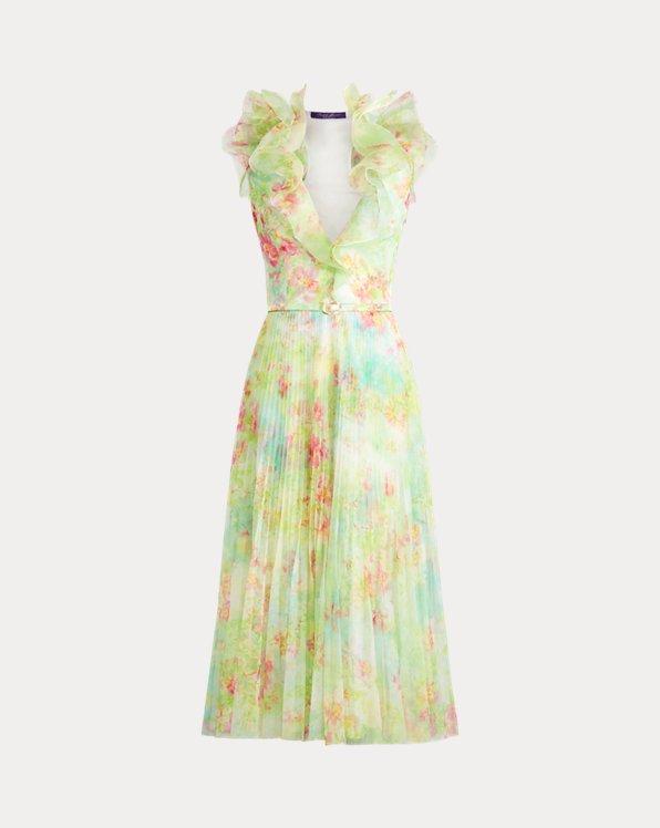 Tasha Floral Tulle Dress