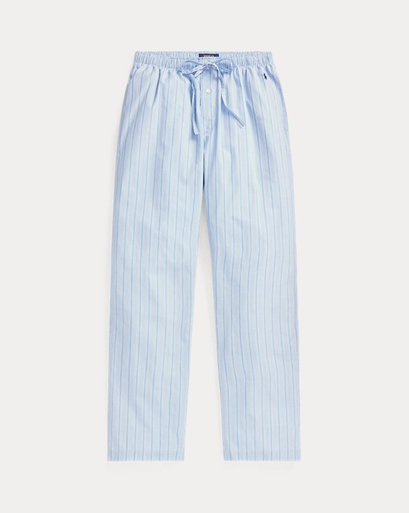 Striped Cotton Pajama Pant