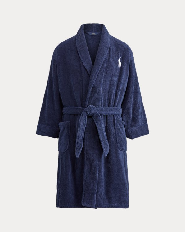 Big Pony Cotton Terry Robe