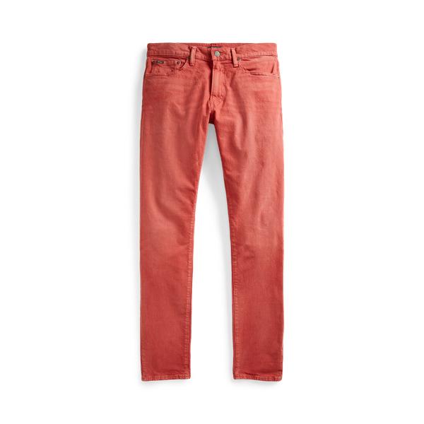 폴로 랄프로렌 Polo Ralph Lauren Sullivan Slim Stretch Jean,Hdn Jacobs Red Stretch