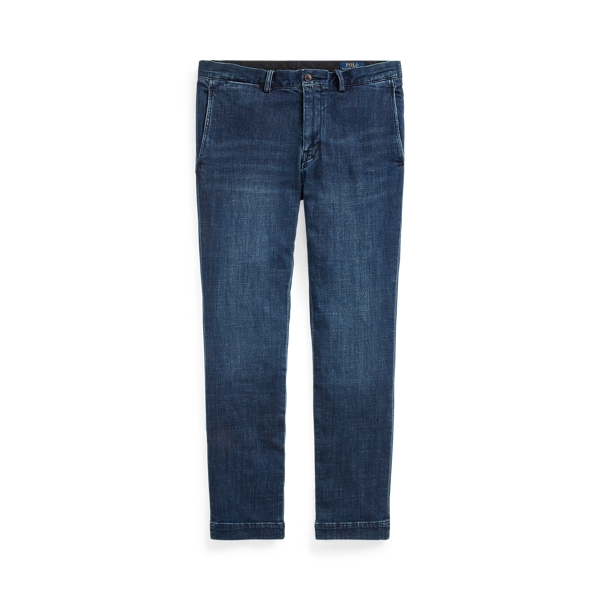 폴로 랄프로렌 Polo Ralph Lauren Stretch Slim Fit Chino-Style Jean,Denim