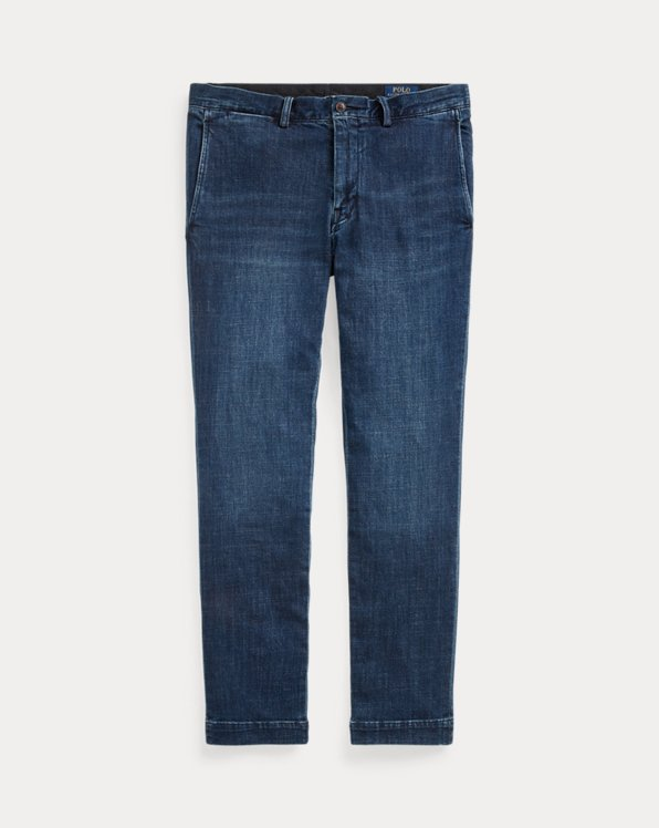 Stretch Slim Fit Chino-Style Jean