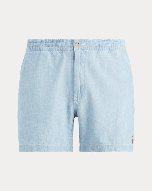 Short Prepster Polo in chambray