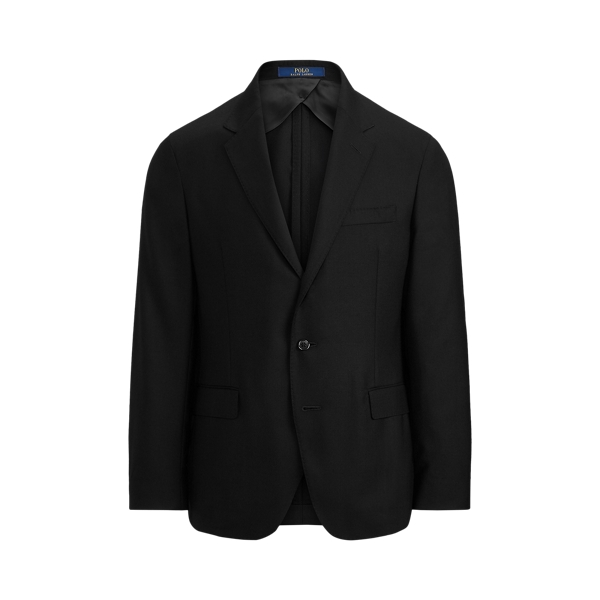 폴로 랄프로렌 Polo Ralph Lauren Polo Soft Wool Oxford Suit Jacket,Black