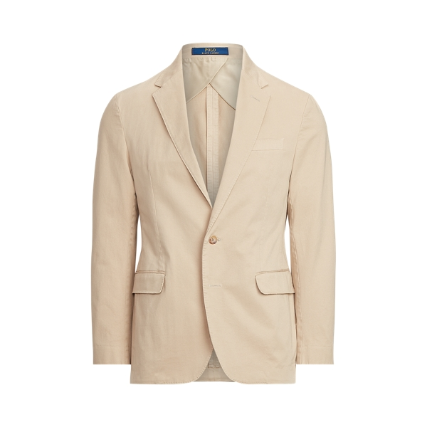 폴로 랄프로렌 Polo Ralph Lauren Polo Soft Stretch Chino Suit Jacket,Tan