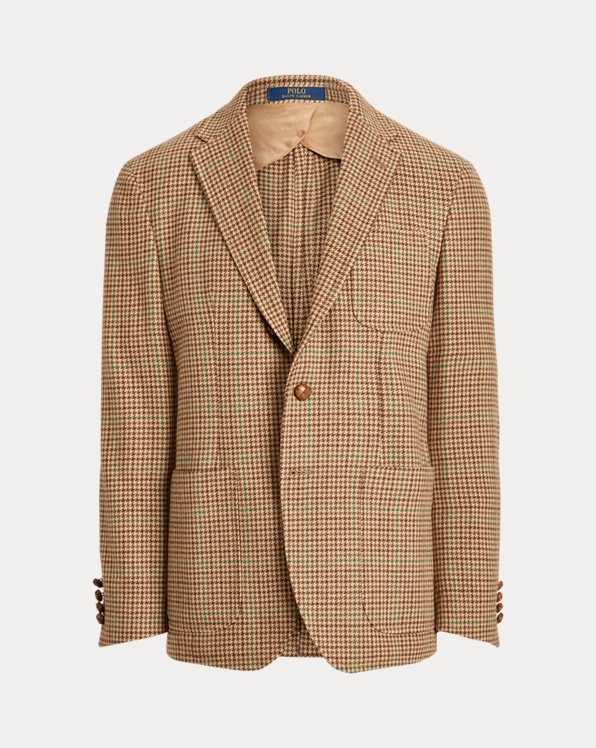 Polo Soft Checked Sport Coat