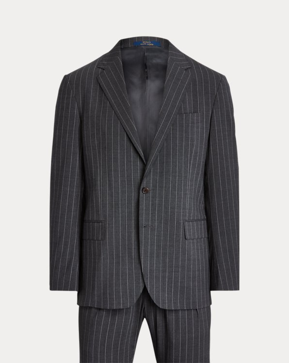 Polo Pinstripe Stretch Suit
