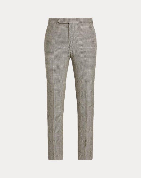 Glen Plaid Suit Trouser
