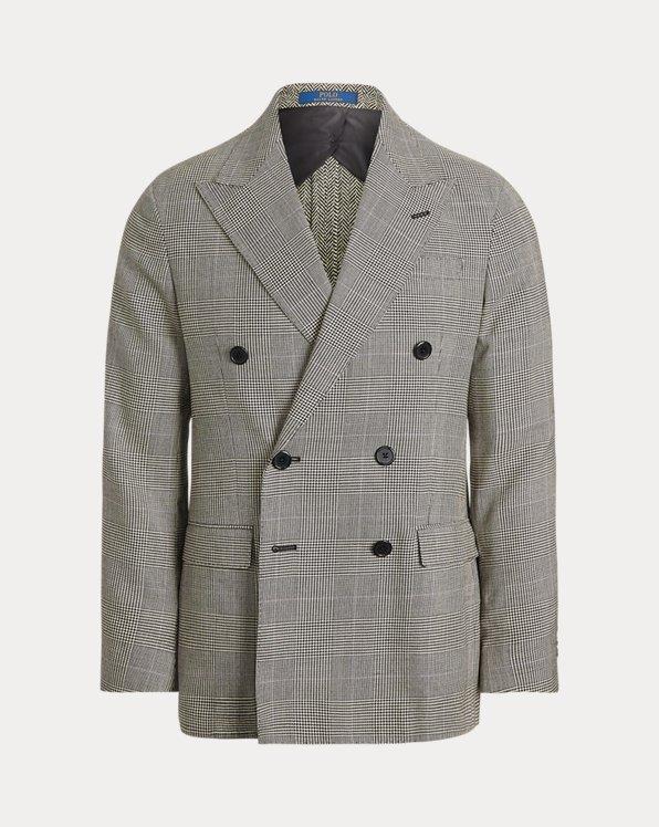 Soft Glen Plaid Suit Jacket