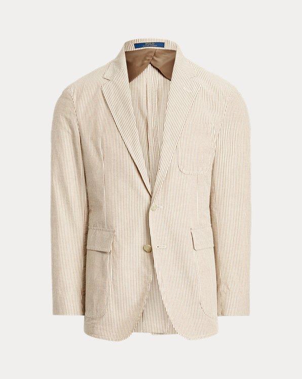 Soft Seersucker Suit Jacket