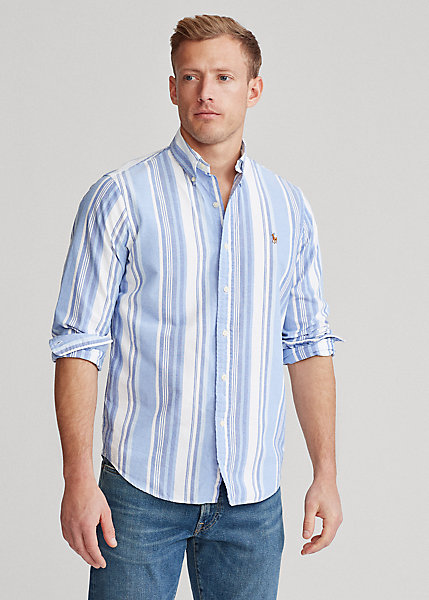 Polo RalphLauren Classic Fit Striped Oxford Shirt