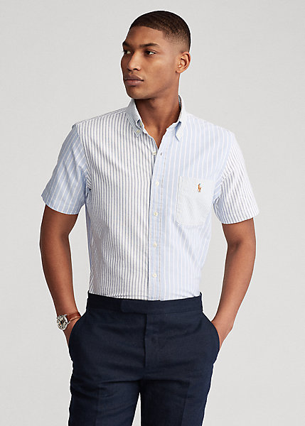 Polo RalphLauren Classic Fit Striped Oxford Fun Shirt