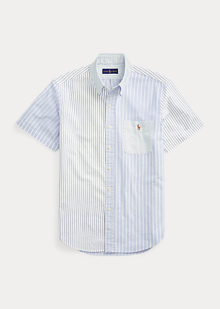 Polo Ralph Lauren Classic Fit Striped Oxford Fun Shirt