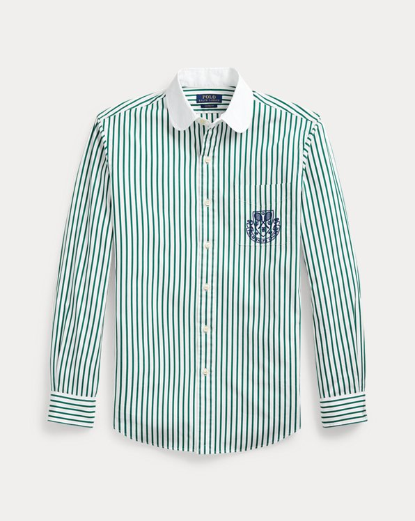 Custom Fit Striped Shirt