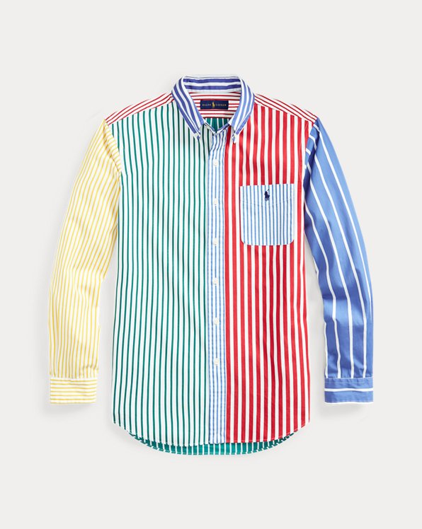 Custom Fit Striped Fun Shirt