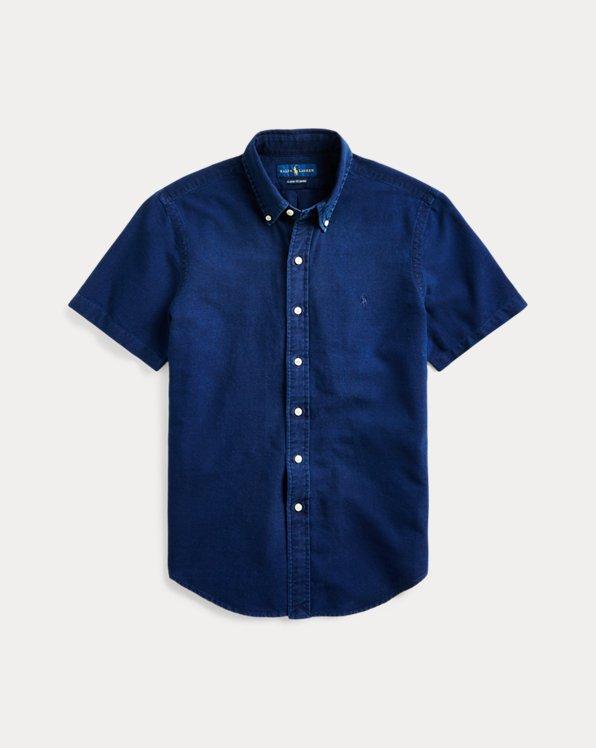 Classic Indigo Oxford Shirt