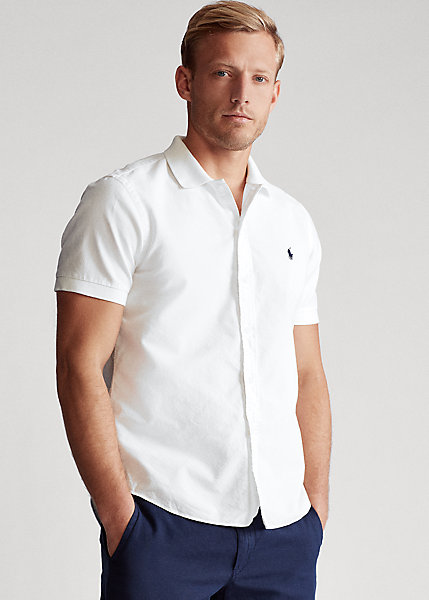 Polo RalphLauren Classic Fit Polo-Collar Oxford Shirt