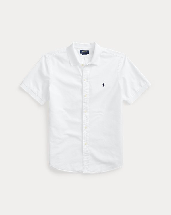 Classic Fit Polo-Collar Oxford