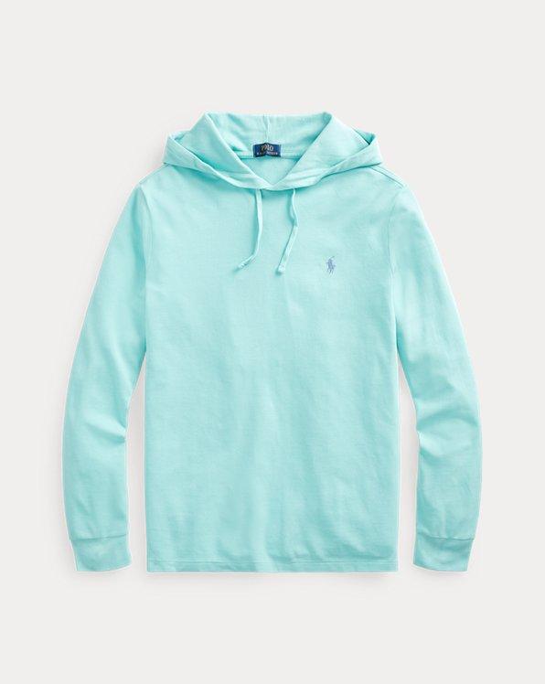 Cotton Mesh Hooded T-Shirt