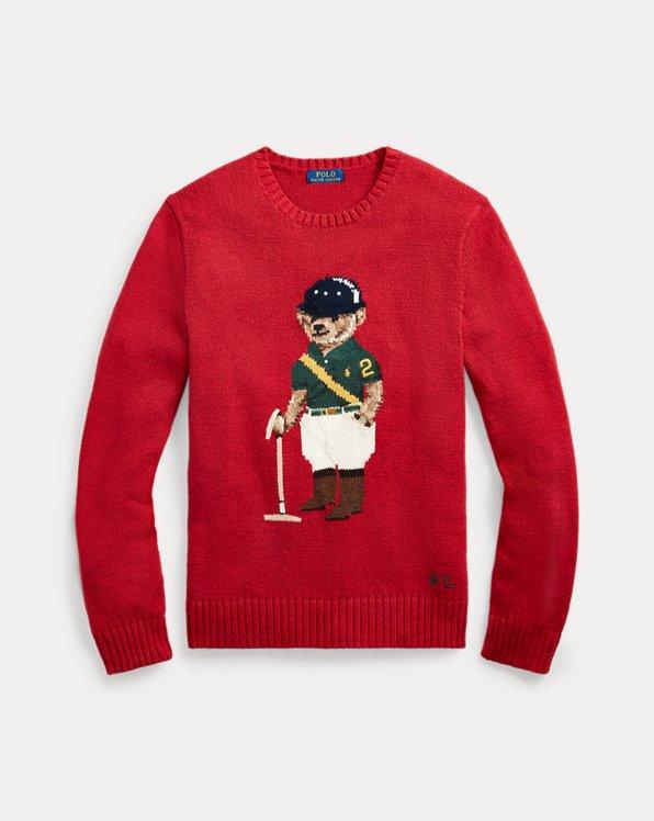 Riding Bear Sweater