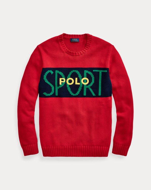 Pull Polo Sport en coton