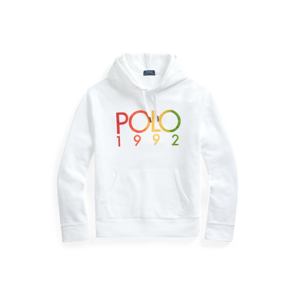 폴로 랄프로렌 Polo Ralph Lauren Polo 1992 Fleece Hoodie,White