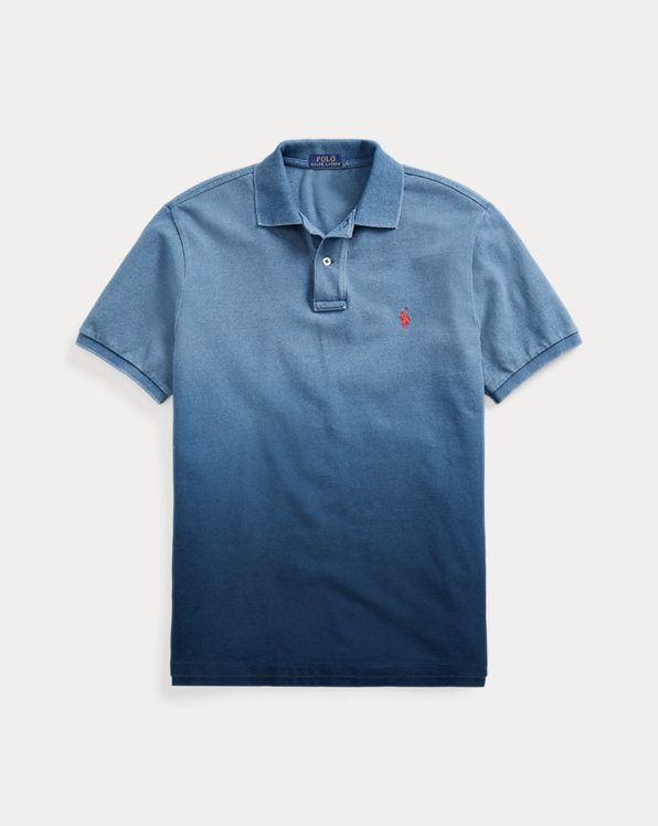 Custom Slim Fit Indigo Polo