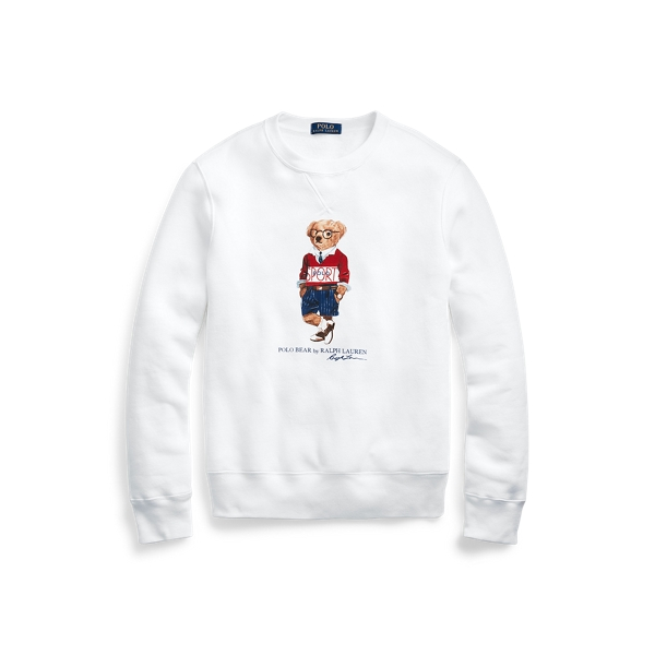 폴로 랄프로렌 Polo Ralph Lauren Polo Sport Bear Sweatshirt,White