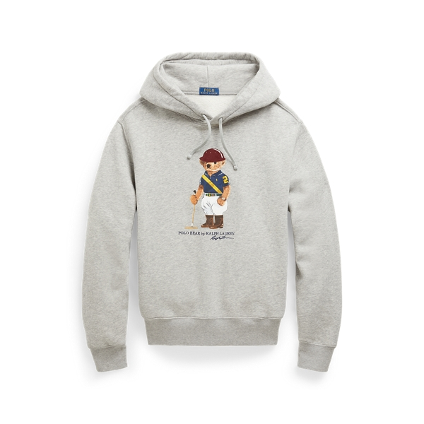 폴로 랄프로렌 Polo Ralph Lauren Riding Bear Hoodie,Andover Heather