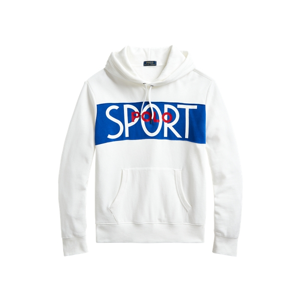 폴로 랄프로렌 Polo Ralph Lauren Polo Sport Fleece Hoodie,White