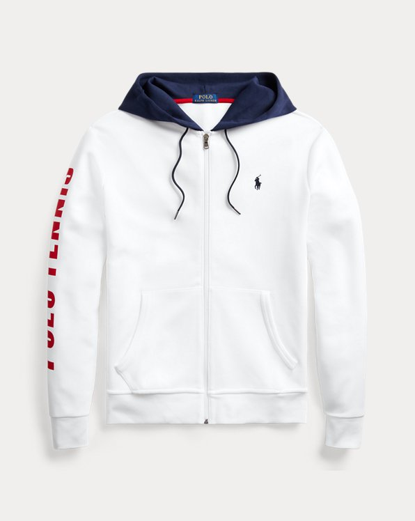 Polo Tennis Double-Knit Hoodie