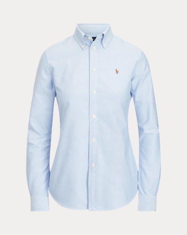 Camisa Oxford Slim Fit de algodón