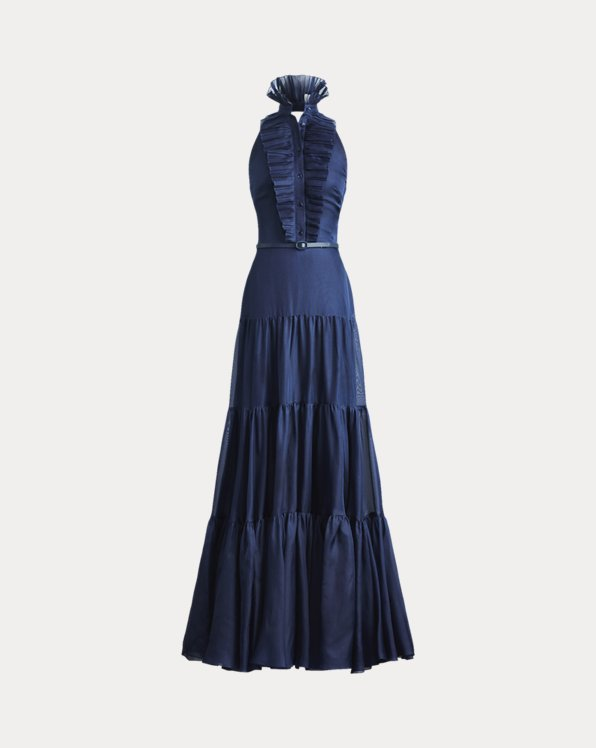Emilia Silk Evening Dress