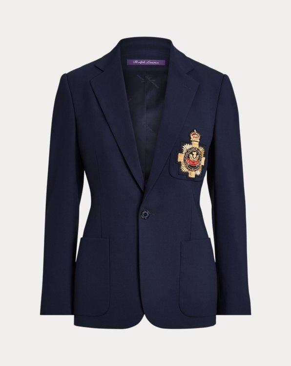 Katherine Wool Crepe Jacket