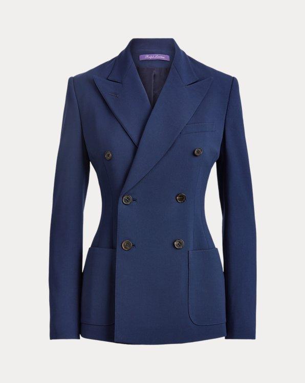 Leslie Wool Crepe Jacket