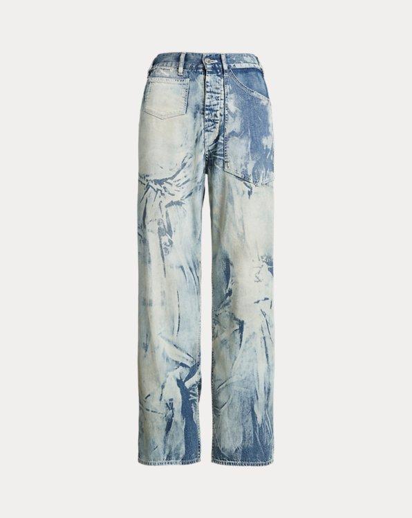 Jeans da lavoro scoloriti