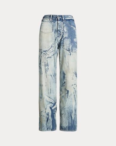 Bleached Work Jean