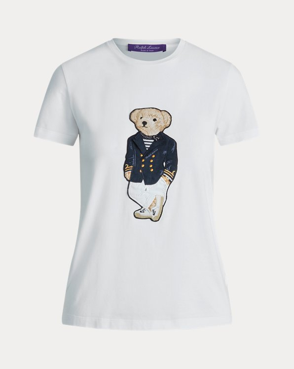 Riviera Bear Cotton Tee