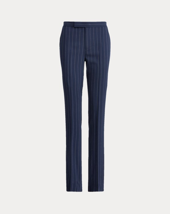 Seth Striped Wool Trouser